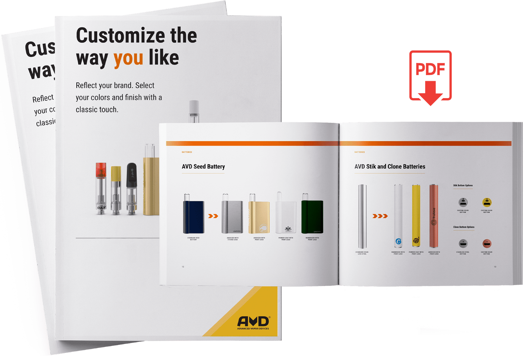 customization catalogue download