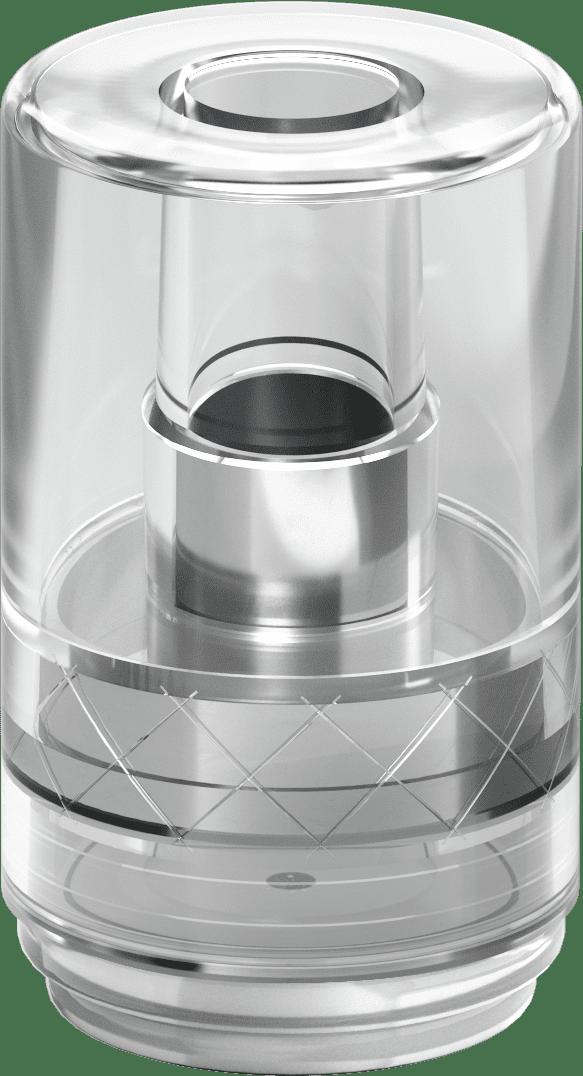 plastic barrel clear