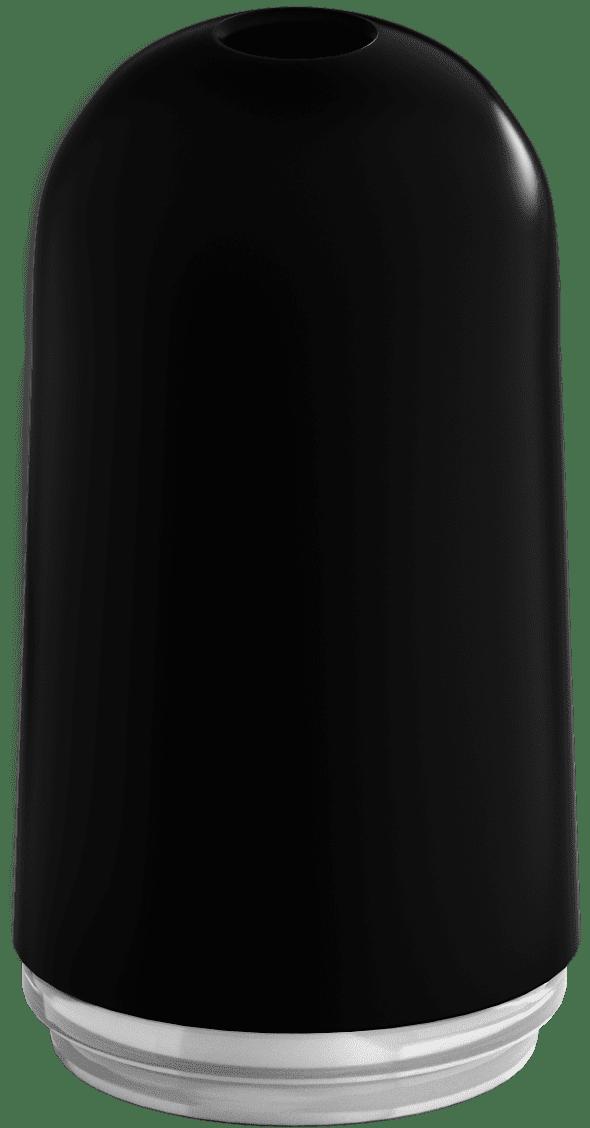 plastic bullet black