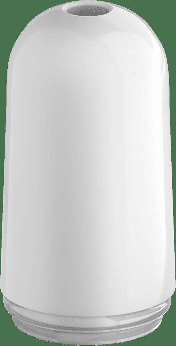 plastic bullet white