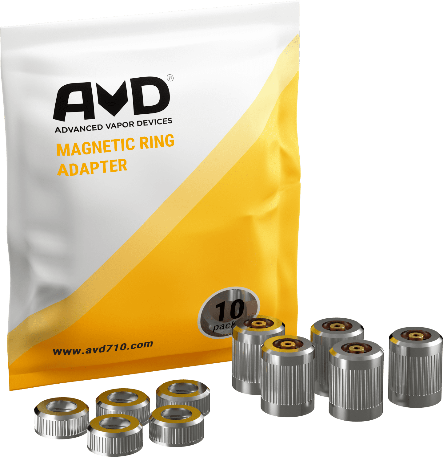 Magnetic adaptors with packaging 1